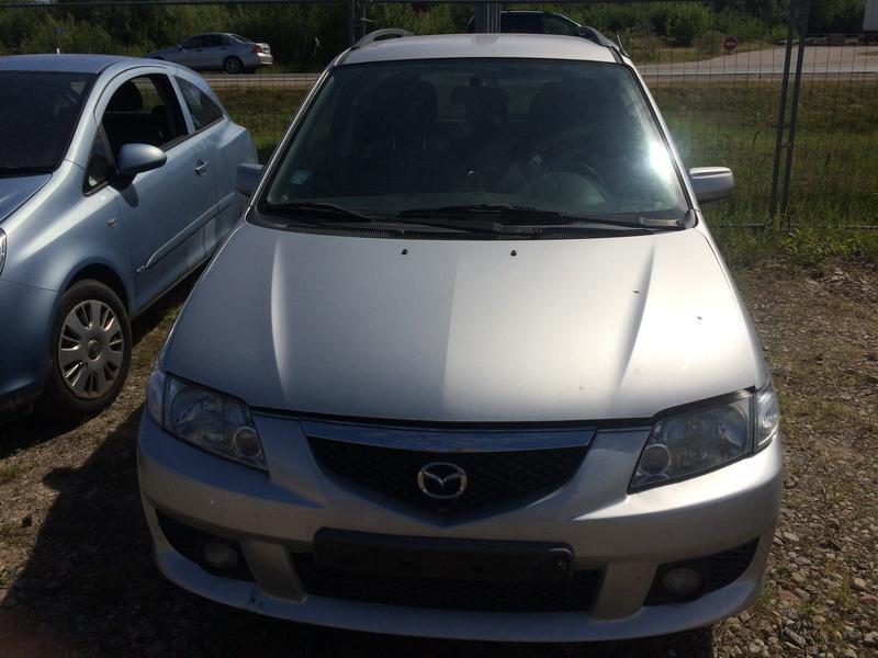 Naudotos automobilio dalys Mazda PREMACY 2001 2.0 Mechaninė Vienatūris 4/5 d. Pilka 2018-6-15
