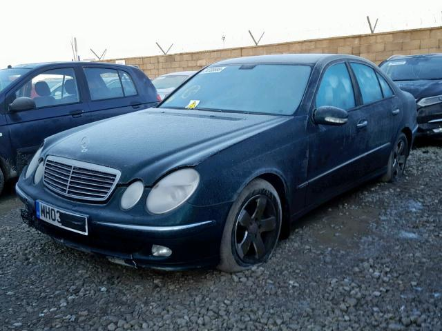 Naudotos automobilio dalys Mercedes-Benz E-CLASS 2003 3.2 Automatinė Sedanas 4/5 d. Zalia 2019-2-01
