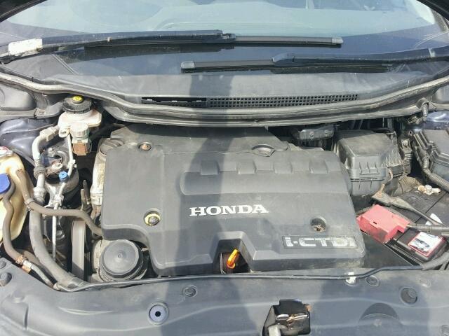 Naudotos automobiliu dallys Foto 7 Honda CIVIC 2007 2.2 Mechaninė Hečbekas 4/5 d. Melyna 2018-8-05 A4022
