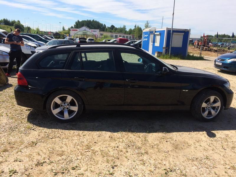 Naudotos automobilio dalys BMW 3-SERIES 2007 1.8 Mechaninė Universalas 4/5 d. Juoda 2018-6-15