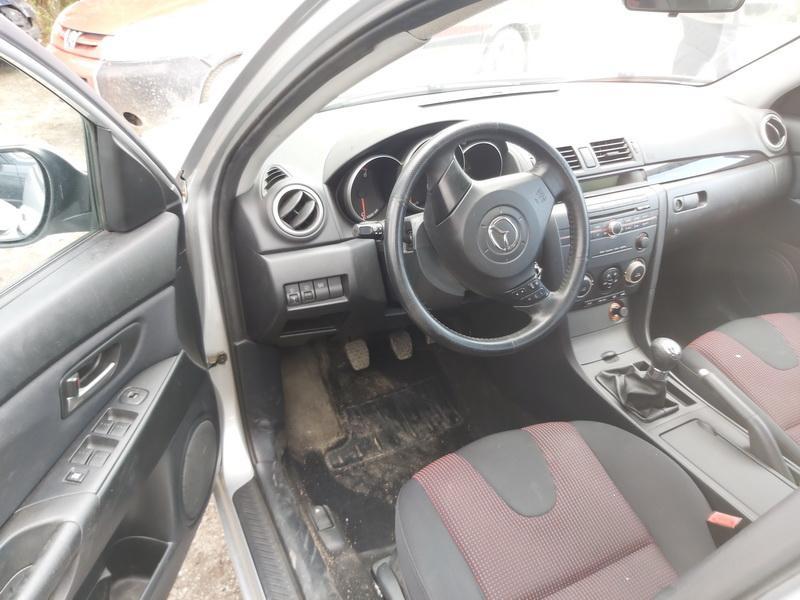 Naudotos automobilio dalys Mazda 3 2006 1.6 Mechaninė Hečbekas 4/5 d. Pilka 2020-9-09