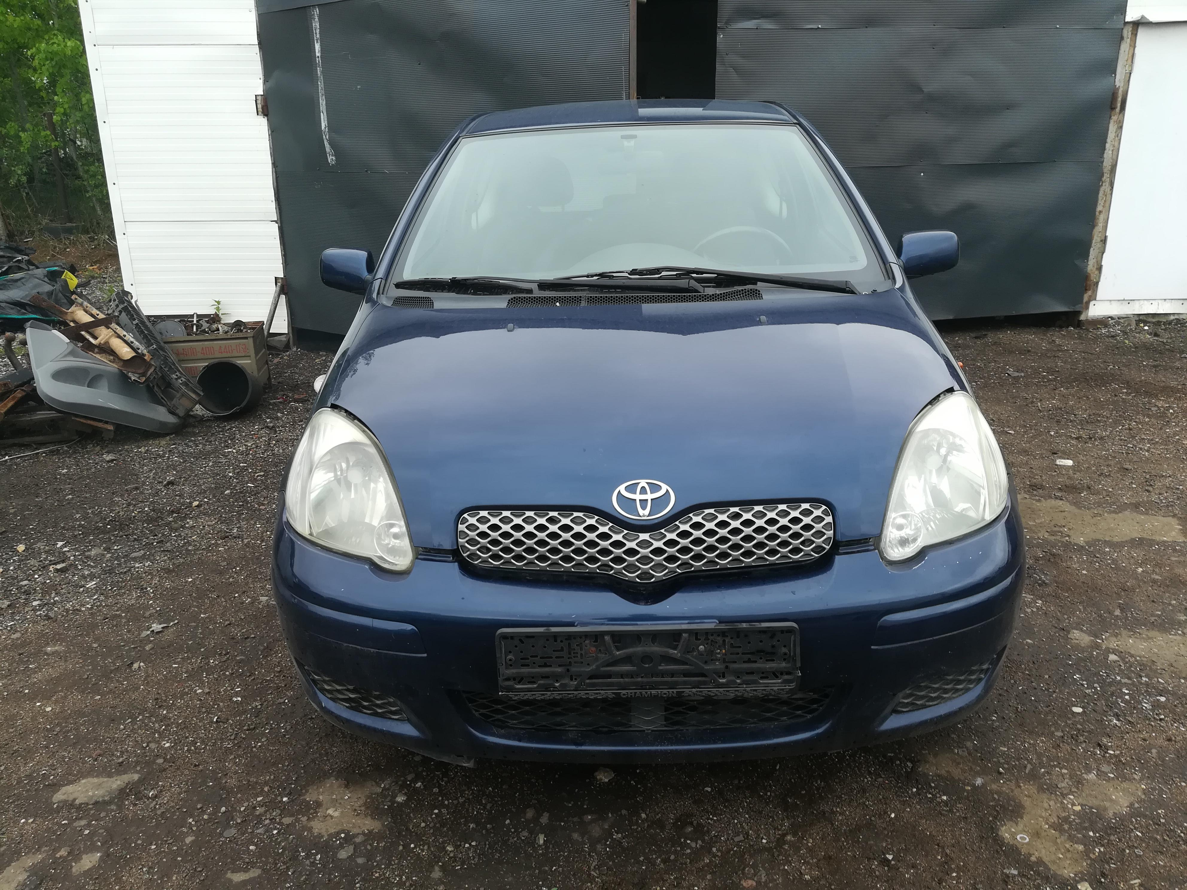 Toyota YARIS 2003 1.4 Mechaninė