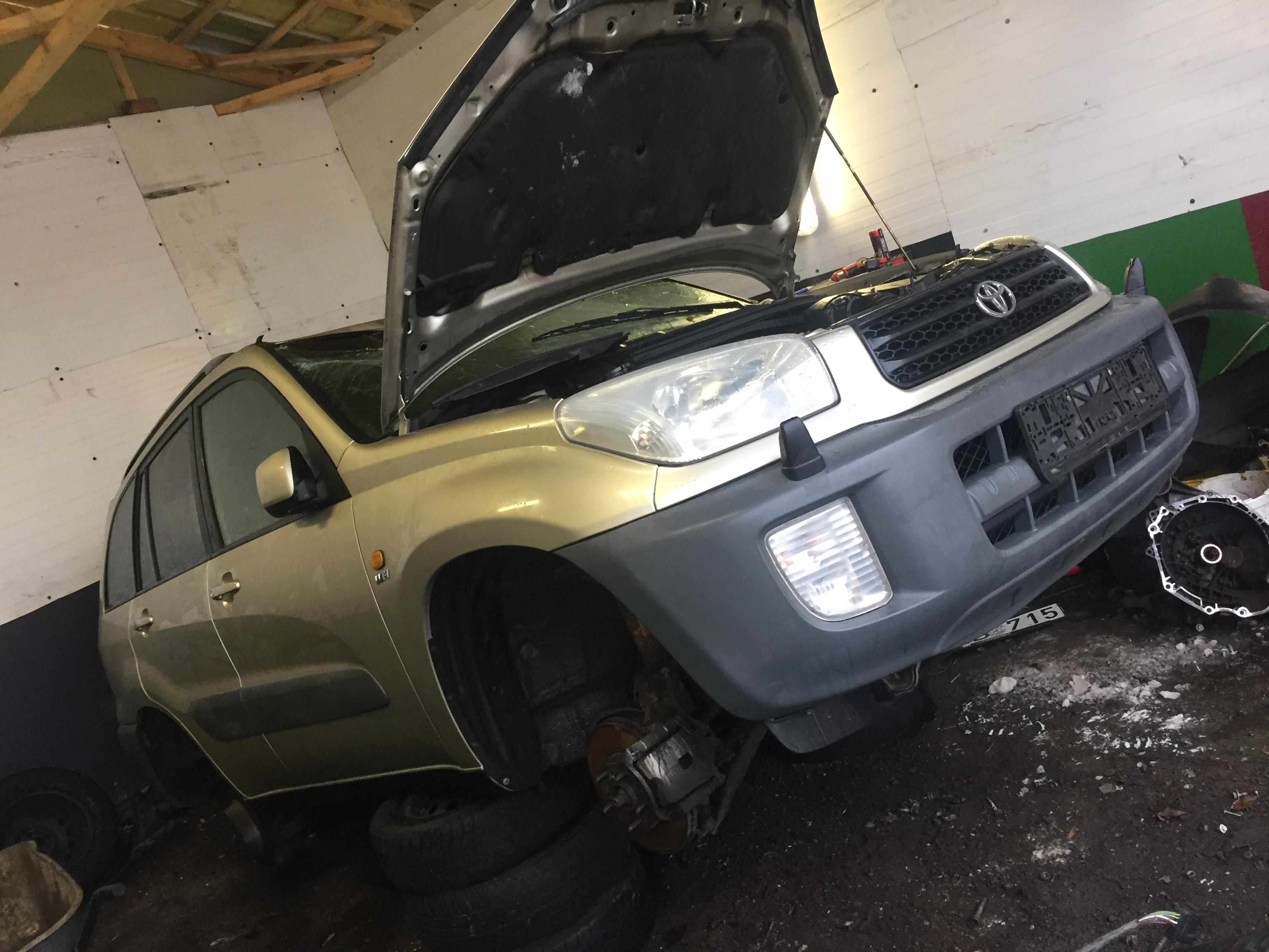 Naudotos automobiliu dallys Foto 2 Toyota RAV-4 2002 1.8 Mechaninė Visureigis 4/5 d. Ruda 2019-1-17 A4261