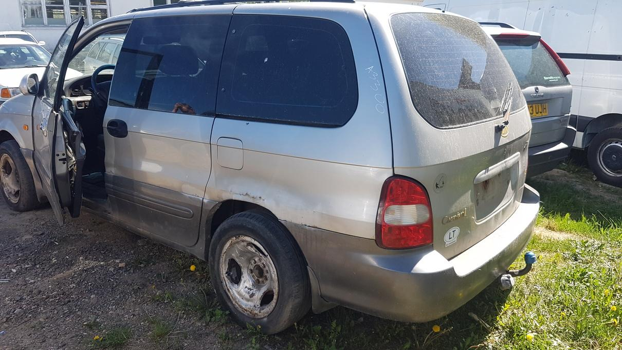 Naudotos automobilio dalys Kia CARNIVAL 2001 2.9 Automatinė Vienatūris 4/5 d. Pilka 2017-5-23