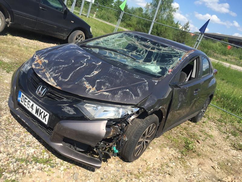 Naudotos automobilio dalys Honda CIVIC 2014 1.6 Mechaninė Hečbekas 4/5 d. Ruda 2018-5-16