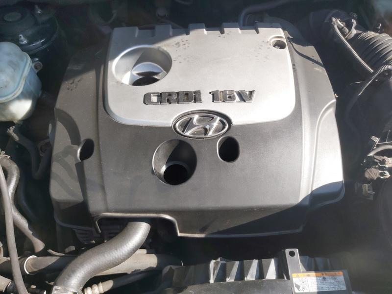 Naudotos automobiliu dallys Foto 2 Hyundai TUCSON 2005 2.0 Mechaninė Visureigis 4/5 d. Juoda 2020-9-16 A5672