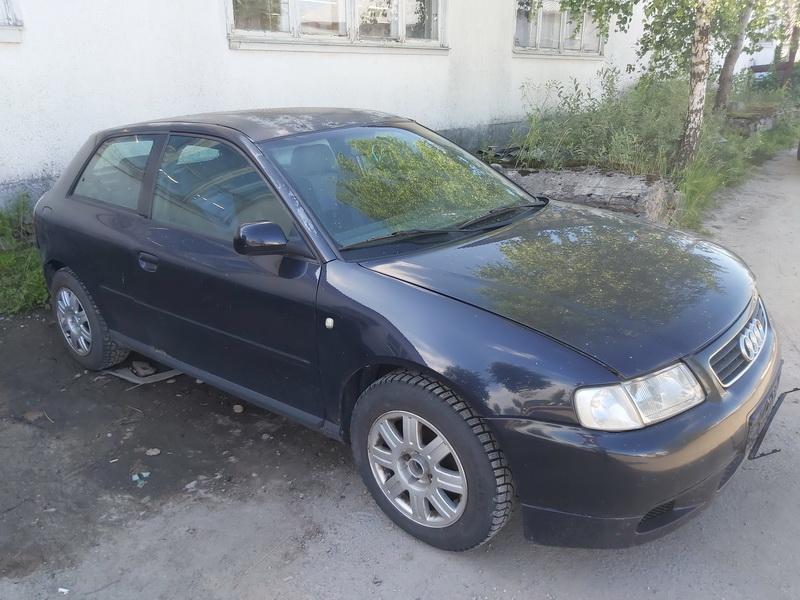 Подержанные Автозапчасти Audi A3 1999 1.6 машиностроение хэтчбэк 2/3 d. синий 2020-7-11