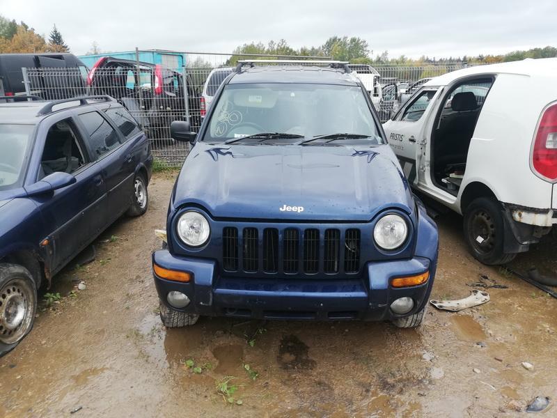 Naudotos automobilio dalys Jeep CHEROKEE 2004 2.5 Mechaninė Visureigis 4/5 d. Melyna 2019-10-11