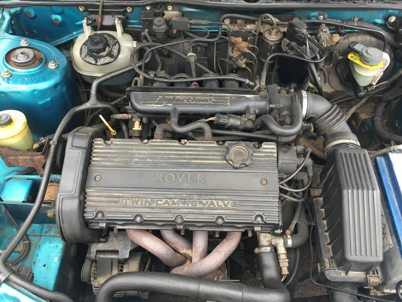 Naudotos automobiliu dallys Foto 2 Rover 200-SERIES 1997 1.4 Mechaninė Hečbekas 4/5 d. Zalia 2019-2-22 A4336