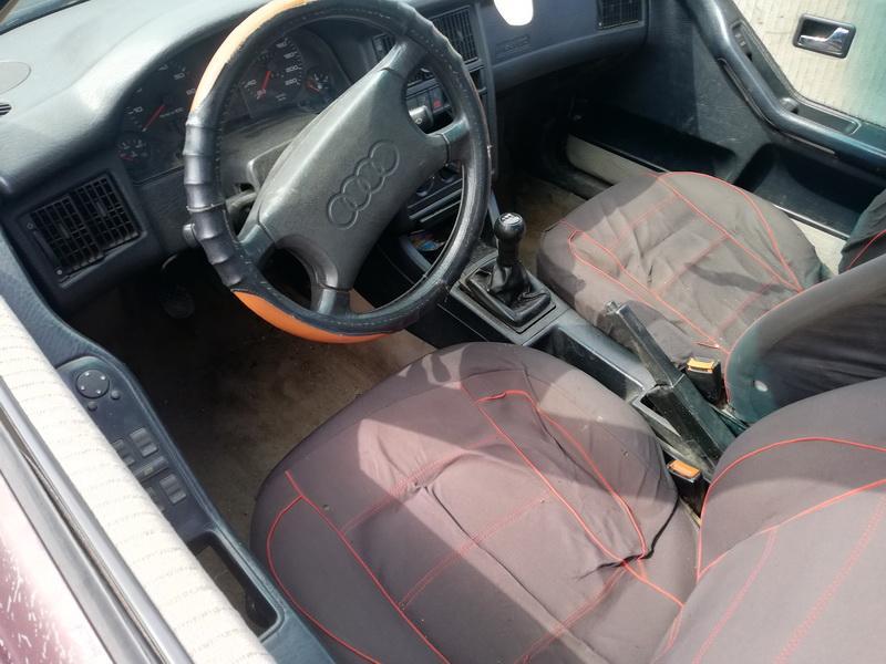 Naudotos automobilio dalys Audi 80 1992 1.9 Mechaninė Sedanas 4/5 d. Raudona 2019-8-09