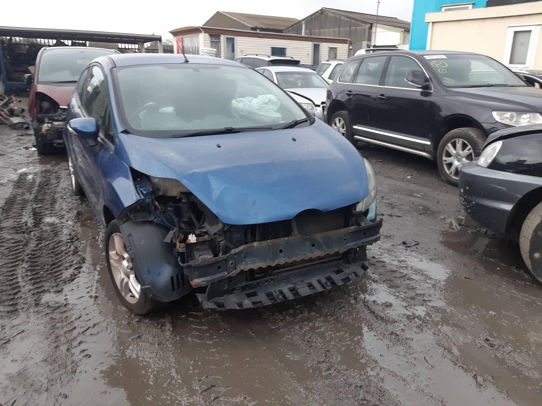Naudotos automobilio dalys Ford FIESTA 2009 1.2 Mechaninė Hečbekas 2/3 d. Melyna 2019-3-07