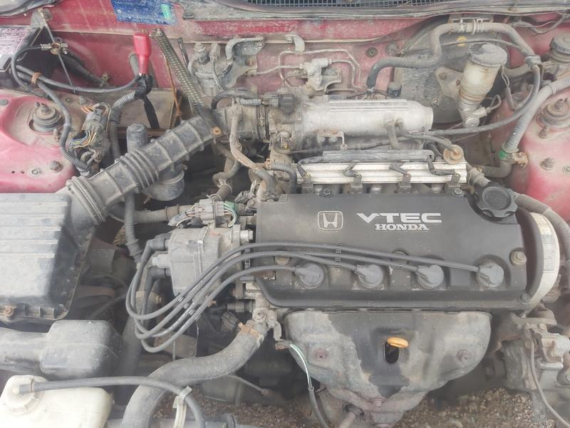 Used Car Parts Foto 2 Honda CIVIC 1993 1.5 Mechanical Hatchback 2/3 d. Red 2020-7-30 A5480