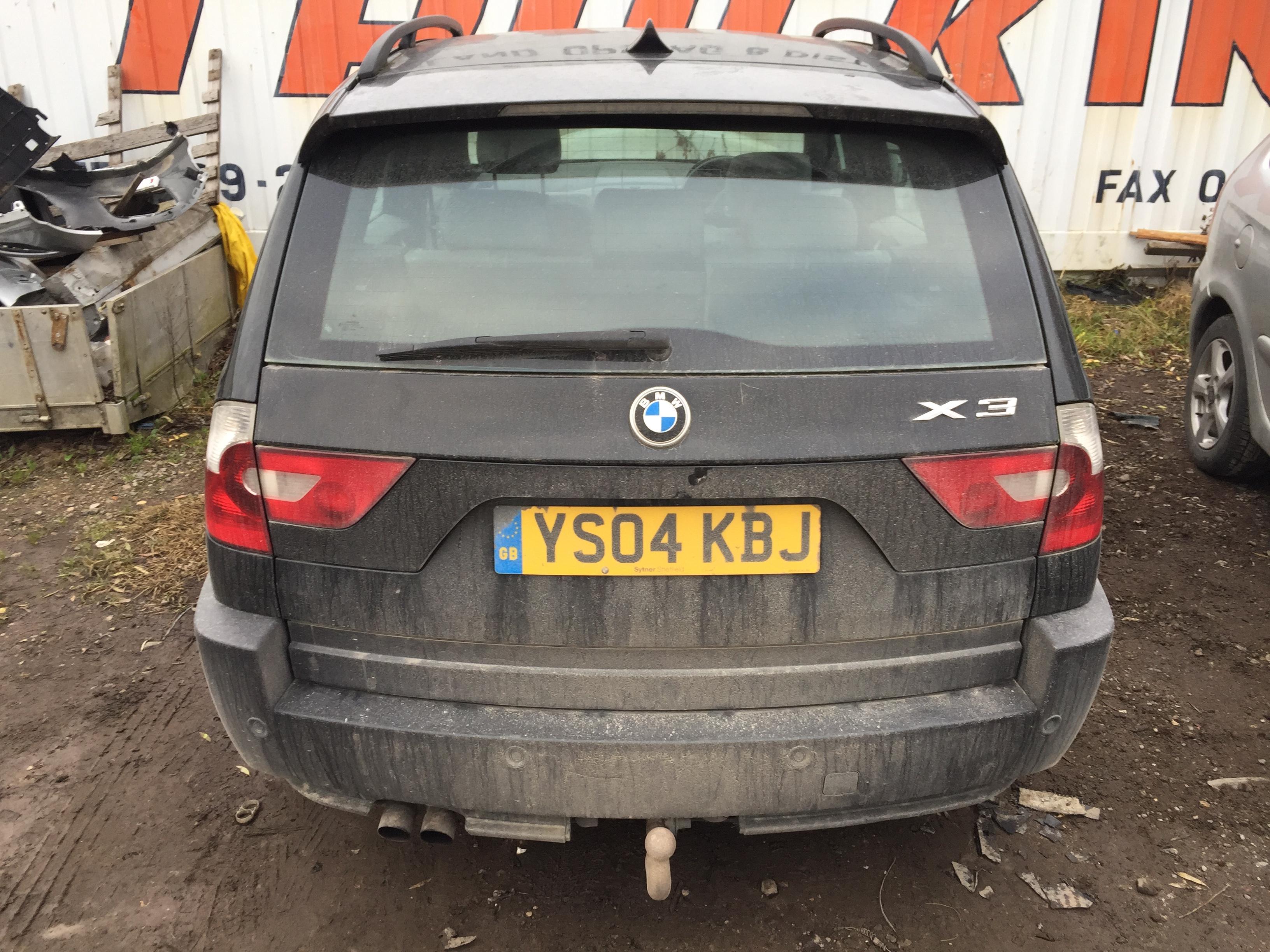 Naudotos automobiliu dallys Foto 4 BMW X3 2004 2.5 Automatinė Visureigis 4/5 d. Juoda 2017-11-08 A3518
