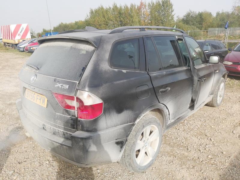 Naudotos automobiliu dallys Foto 9 BMW X3 2006 2.0 Mechaninė Visureigis 4/5 d. Juoda 2020-10-01 A5705