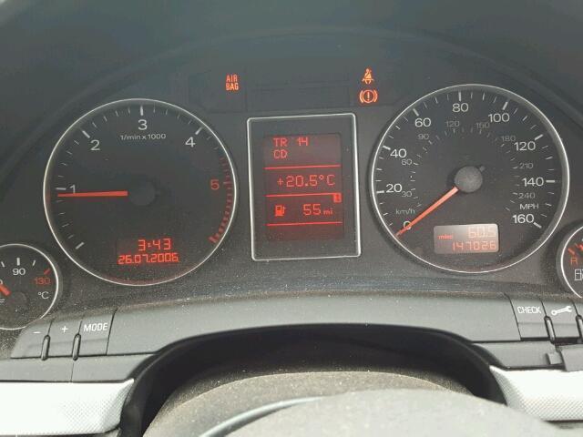 Naudotos automobiliu dallys Foto 4 Audi A4 2007 2.0 Mechaninė Sedanas 4/5 d. Juoda 2018-8-05 A4017