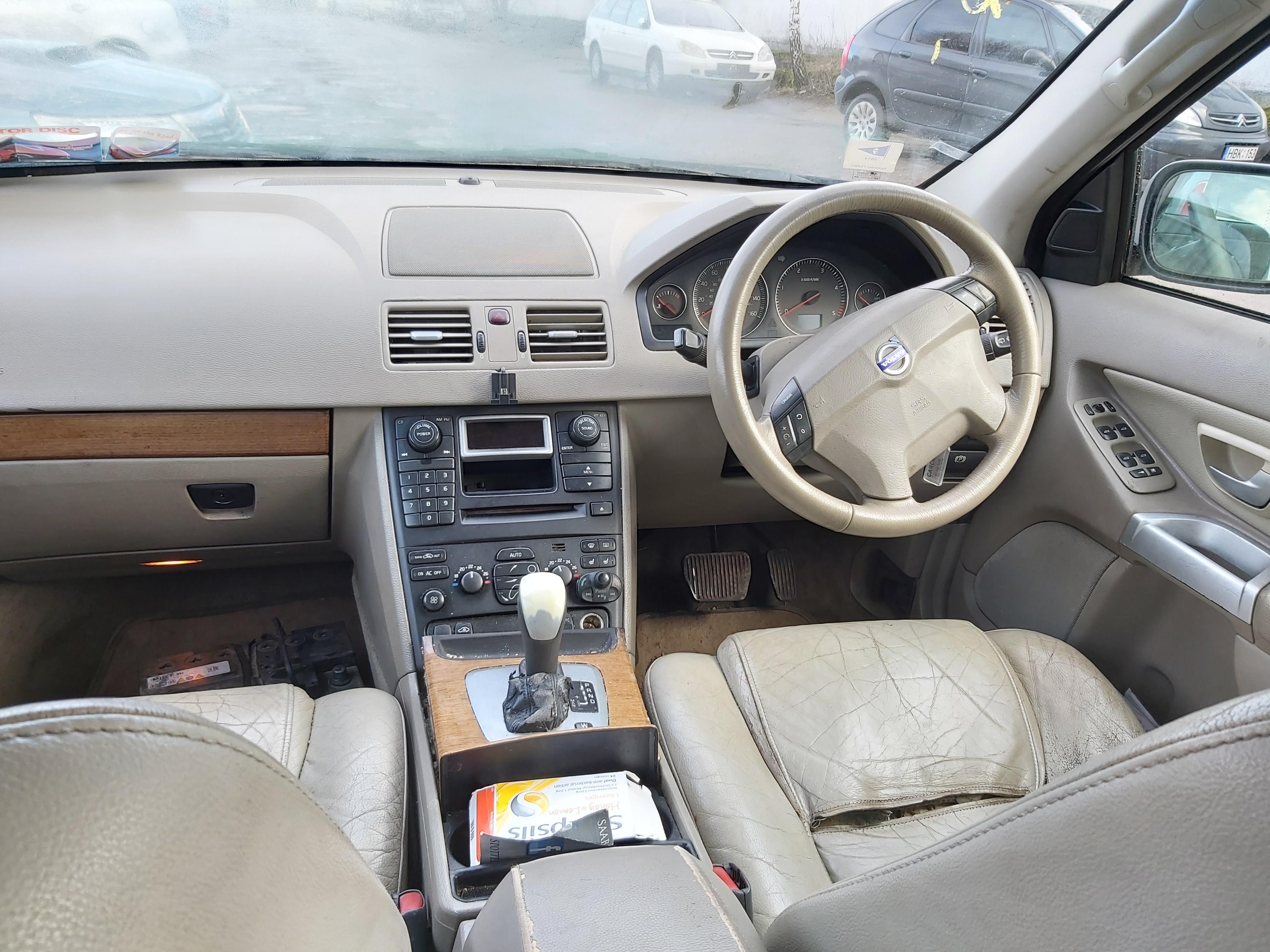 Naudotos automobilio dalys Volvo XC 90 2004 2.4 Automatinė Visureigis 4/5 d. Melyna 2020-2-06