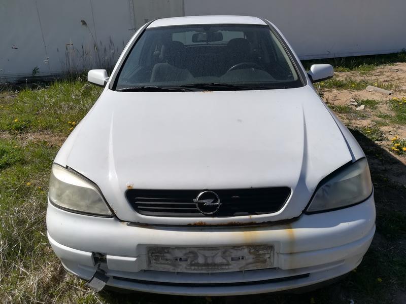 Naudotos automobilio dalys Opel ASTRA 2003 1.2 Mechaninė Hečbekas 4/5 d. Balta 2019-5-08