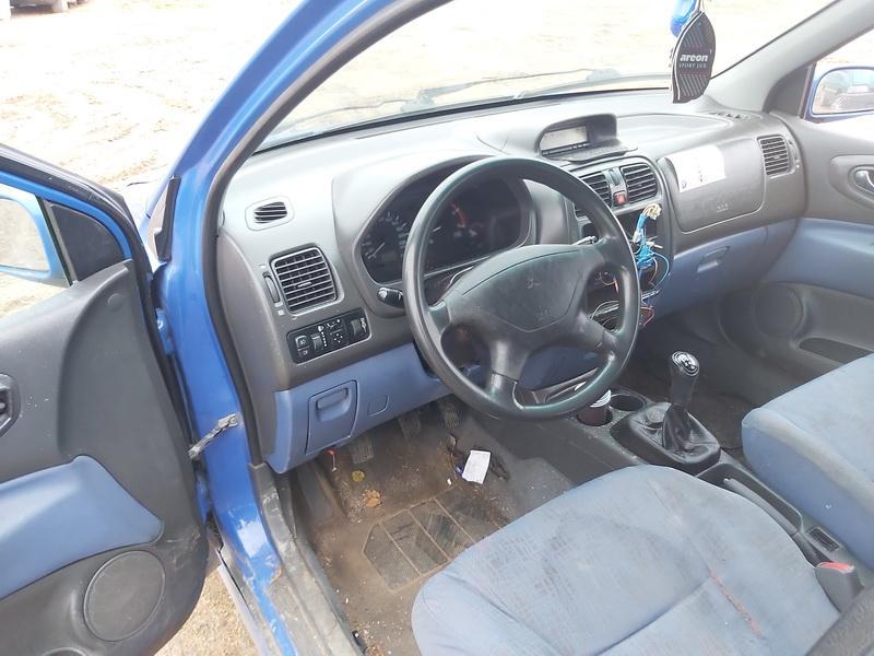 Naudotos automobilio dalys Mitsubishi SPACE STAR 2001 1.9 Mechaninė Vienatūris 4/5 d. Melyna 2020-11-12