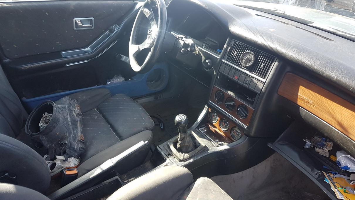 Naudotos automobiliu dallys Foto 6 Audi 80 1990 2.0 Mechaninė Sedanas 4/5 d. Zydra 2017-3-23 A3237