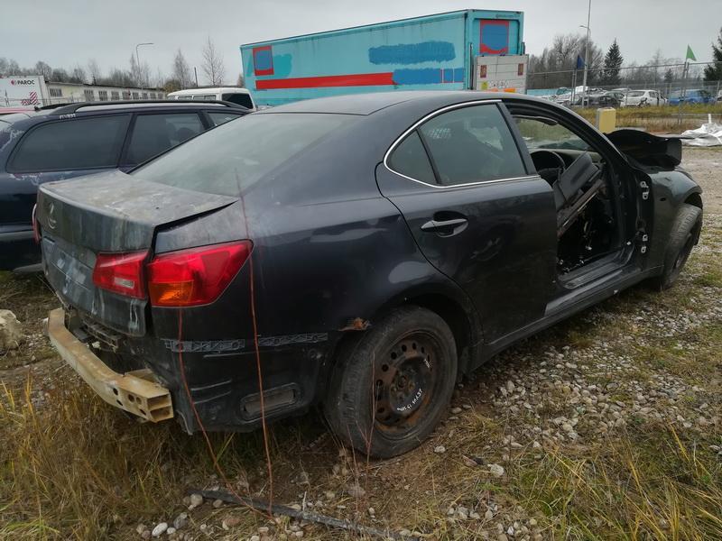 Naudotos automobiliu dallys Foto 7 Lexus IS - CLASS 2006 2.5 Mechaninė Sedanas 4/5 d. Pilka 2019-11-14 A4891