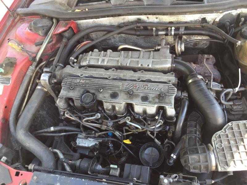 Naudotos automobiliu dallys Foto 2 Alfa-Romeo 164 1995 2.5 Mechaninė Sedanas 4/5 d. Raudona 2018-5-28 A3794