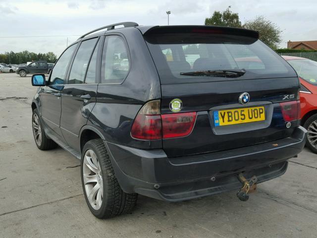 Naudotos automobiliu dallys Foto 4 BMW X5 2005 3.0 Mechaninė Visureigis 4/5 d. Juoda 2018-11-01 A4159