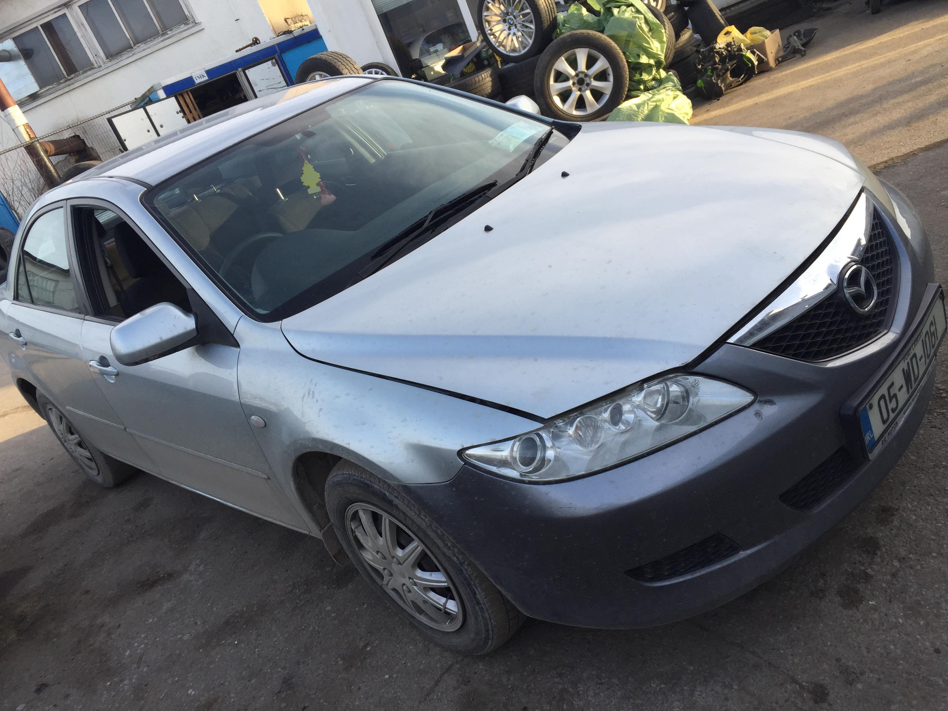Naudotos automobilio dalys Mazda 6 2003 1.8 Mechaninė Sedanas 4/5 d. Zydra 2017-11-28