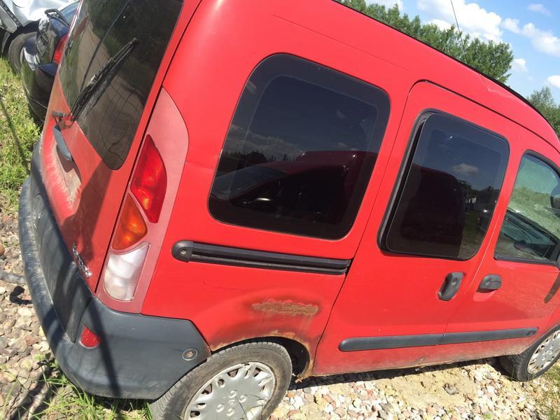 Naudotos automobilio dalys Renault KANGOO 1999 1.2 Mechaninė Komercinis 4/5 d. Raudona 2018-5-16