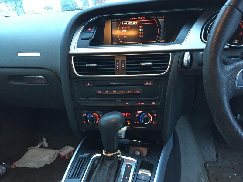 Подержанные Автозапчасти Foto 11 Audi A5 2008 3.0 автоматическая Купе 2/3 d. черный 2019-1-10 A4257