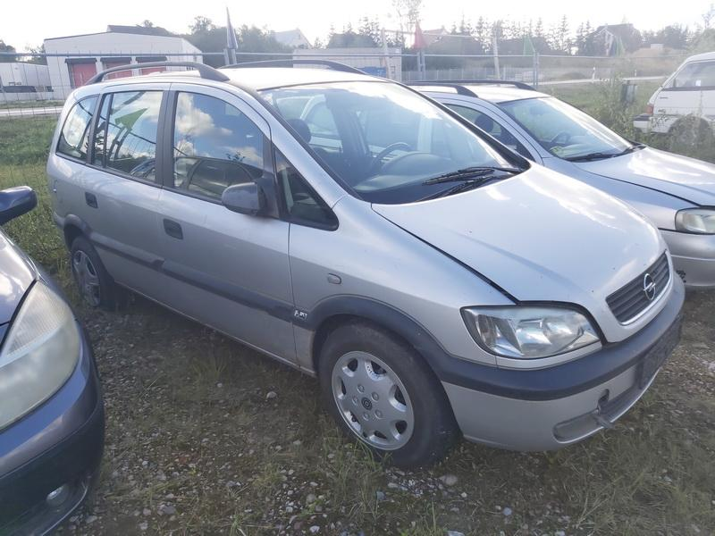 Naudotos automobilio dalys Opel ZAFIRA 2002 2.2 Mechaninė Vienatūris 4/5 d. Sidabrine 2020-8-28