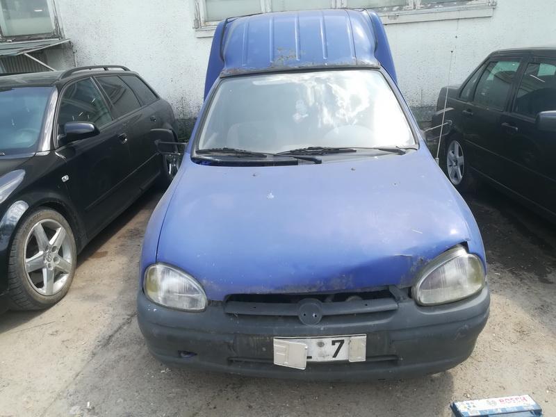 Naudotos automobilio dalys Opel COMBO 1996 1.7 Mechaninė Komercinis 2/3 d. Melyna 2019-6-11