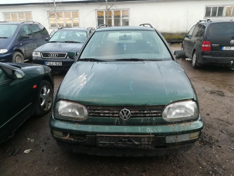 Naudotos automobilio dalys Volkswagen GOLF 1998 1.9 Mechaninė Universalas 4/5 d. Zalia 2019-12-07
