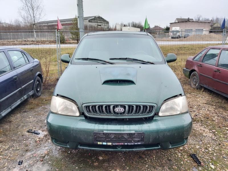 Naudotos automobilio dalys Kia CARNIVAL 2000 2.9 Mechaninė Vienatūris 4/5 d. Zalia 2020-1-30