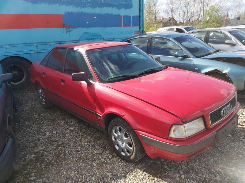 Naudotos automobilio dalys Audi 80 1992 2.0 Mechaninė Sedanas 4/5 d. Raudona 2020-5-20
