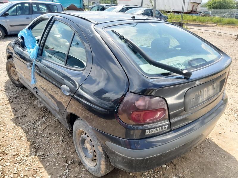 Naudotos automobilio dalys Renault MEGANE 1996 1.6 Mechaninė Hečbekas 4/5 d. Juoda 2020-6-03