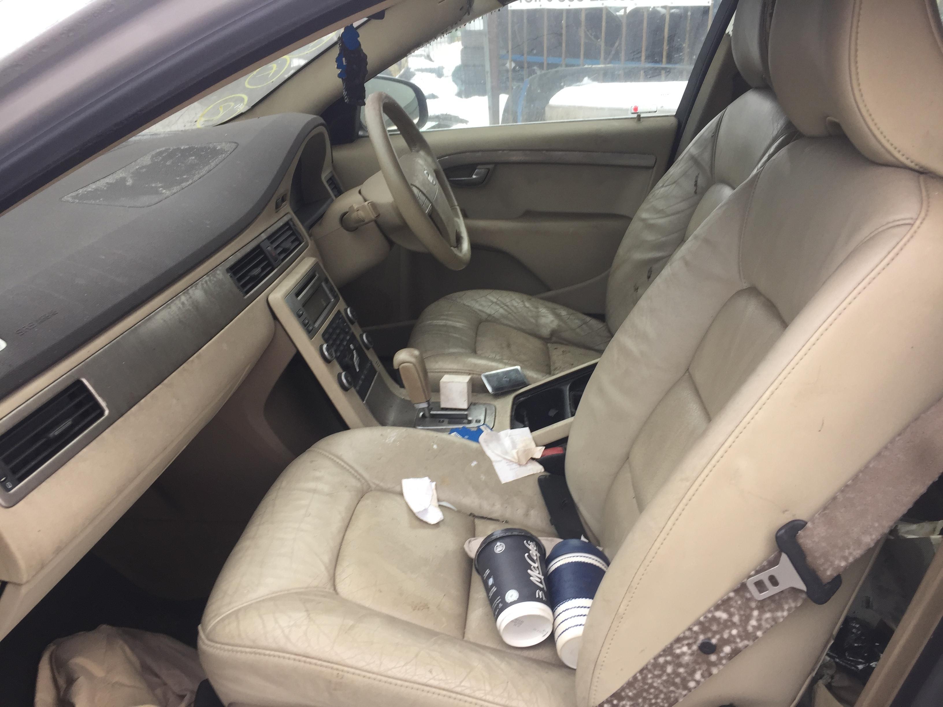 Подержанные Автозапчасти Foto 3 Volvo S80 2008 2.4 автоматическая седан 4/5 d. серебро 2019-2-08 A4313