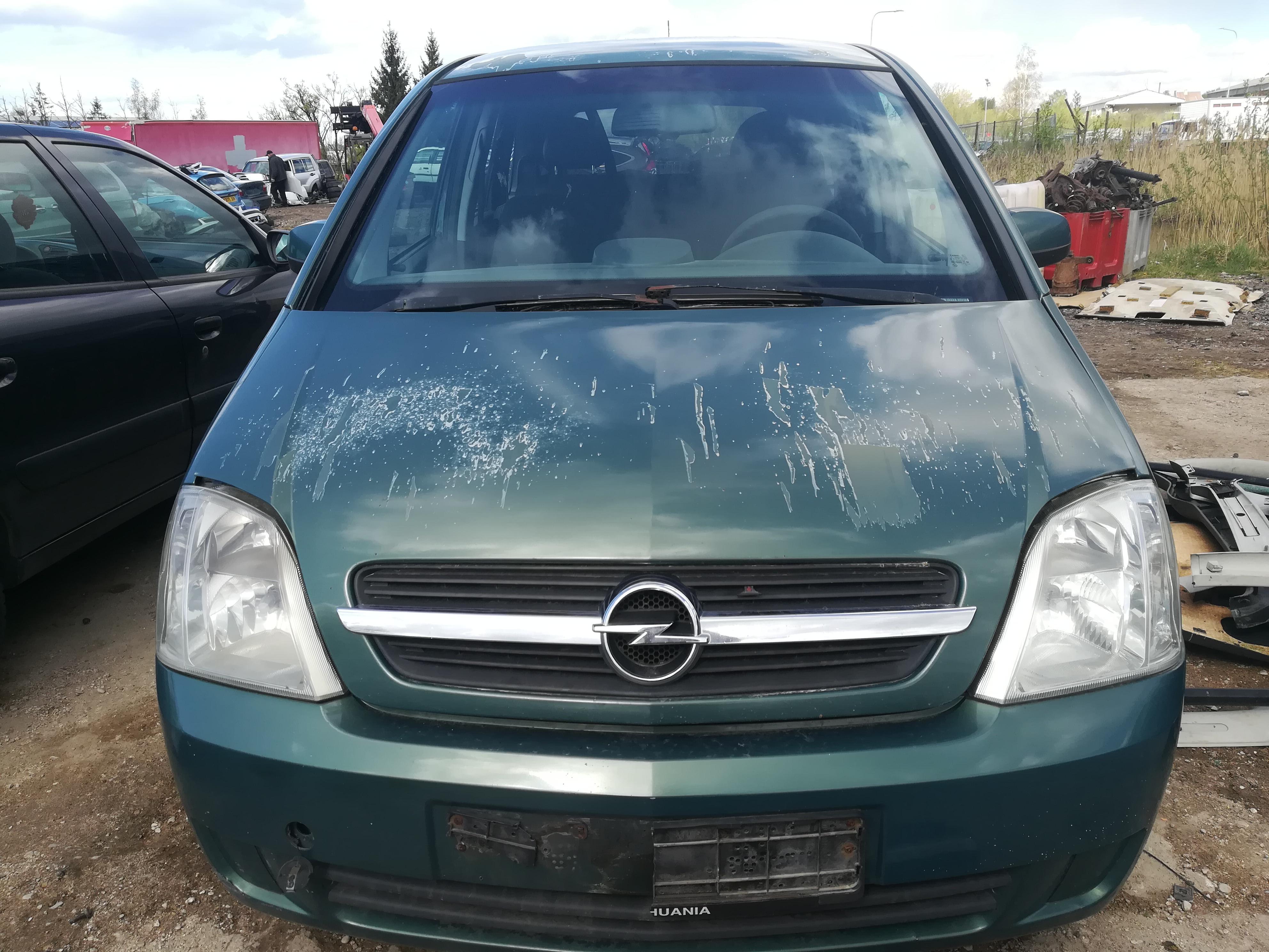 Naudotos automobilio dalys Opel MERIVA 2004 1.7 Mechaninė Hečbekas 4/5 d. Zalia 2019-4-30