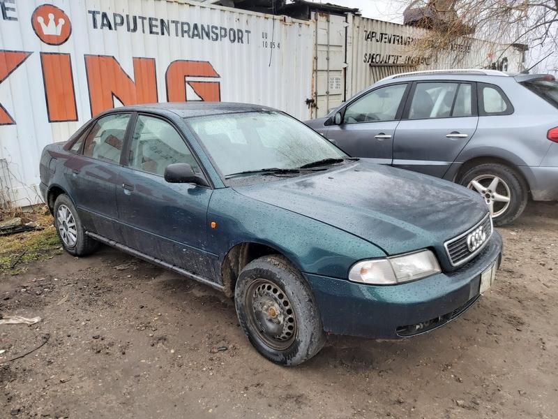 Naudotos automobilio dalys Audi A4 1996 1.8 Mechaninė Sedanas 4/5 d. Zalia 2020-4-15