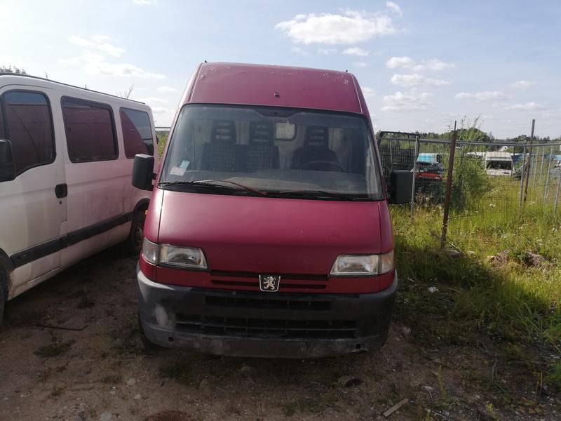 Naudotos automobilio dalys Peugeot BOXER 1998 2.5 Mechaninė Krovininis mikroautobusas 2/3 d. Vysnine 2019-8-05