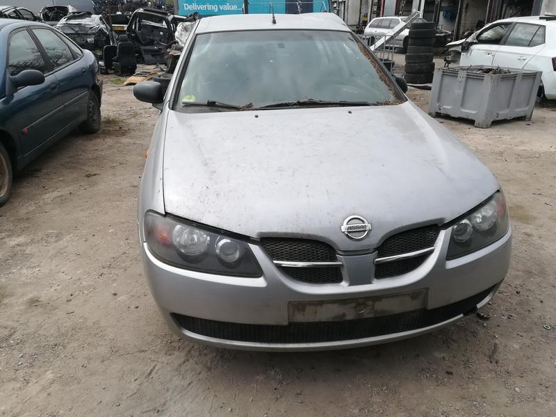 Used Car Parts Nissan ALMERA 2003 1.5 Mechanical Hatchback 4/5 d. Silver 2019-5-09