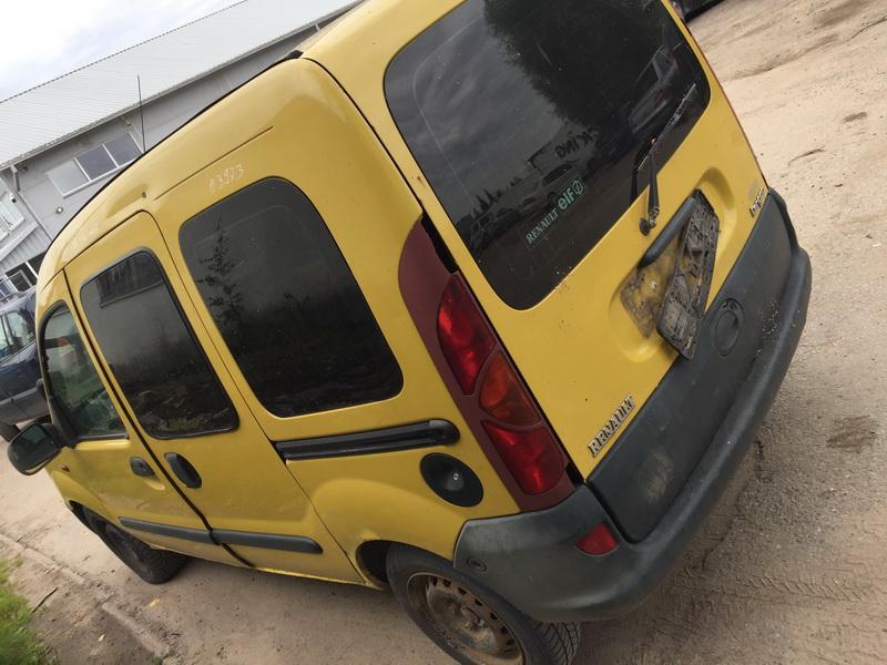 Naudotos automobilio dalys Renault KANGOO 2000 1.9 Mechaninė Komercinis 2/3 d. Geltona 2018-7-25