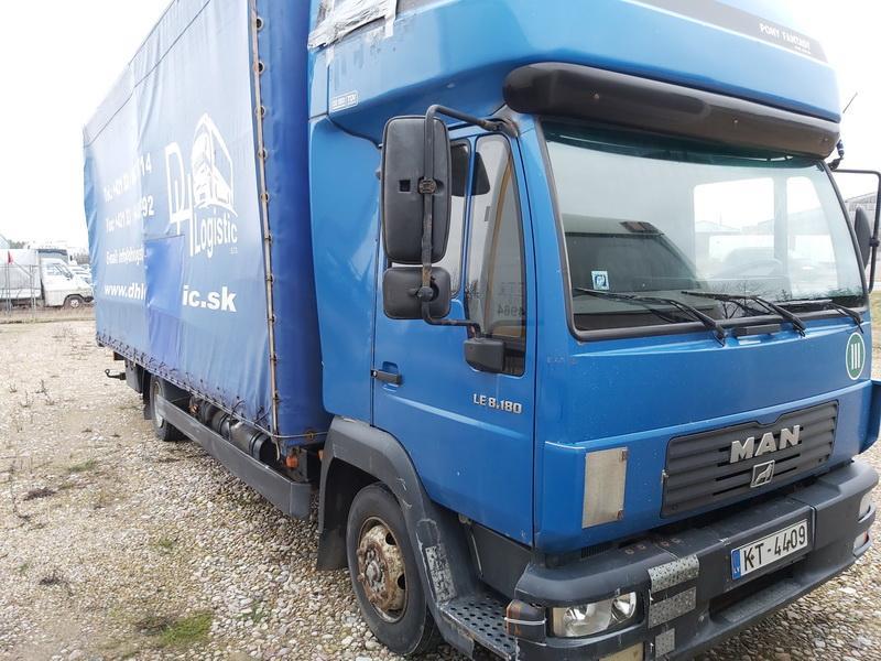 Naudotos automobilio dalys Truck - MAN LE8.180 2003 4.5 Mechaninė Sunkvezimis 2/3 d. Melyna 2020-1-02