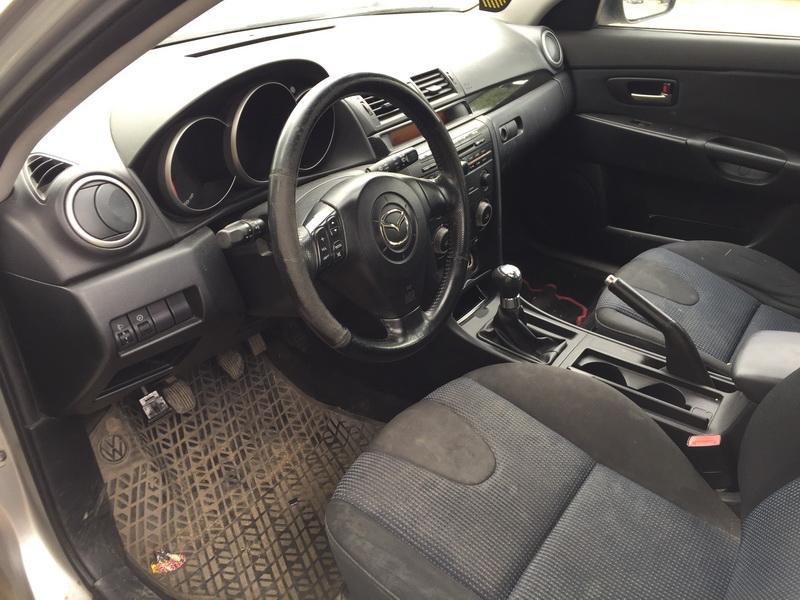 Naudotos automobilio dalys Mazda 3 2004 1.6 Mechaninė Hečbekas 4/5 d. Sidabrine 2018-6-12