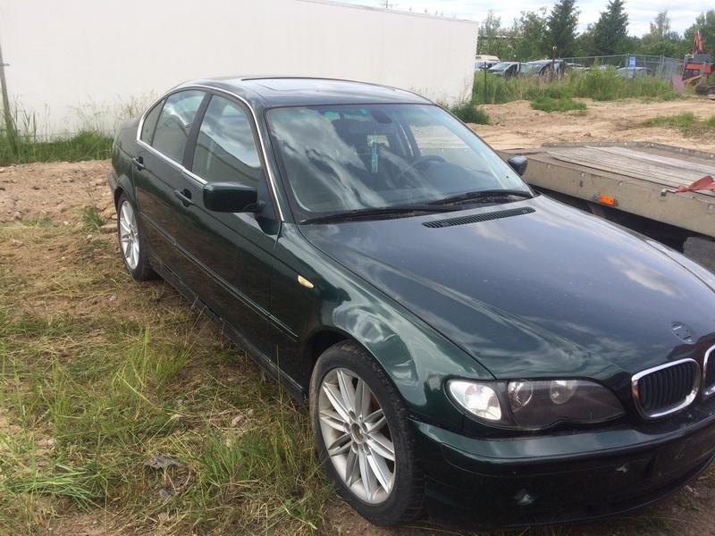 Подержанные Автозапчасти Foto 4 BMW 3-SERIES 2000 2.0 машиностроение седан 4/5 d. зеленый 2018-6-13 A3867
