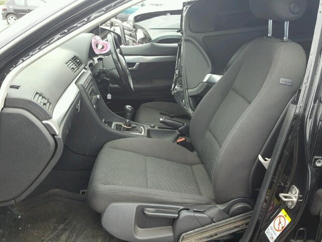Naudotos automobiliu dallys Foto 8 Audi A4 2007 2.0 Mechaninė Sedanas 4/5 d. Juoda 2018-8-05 A4017
