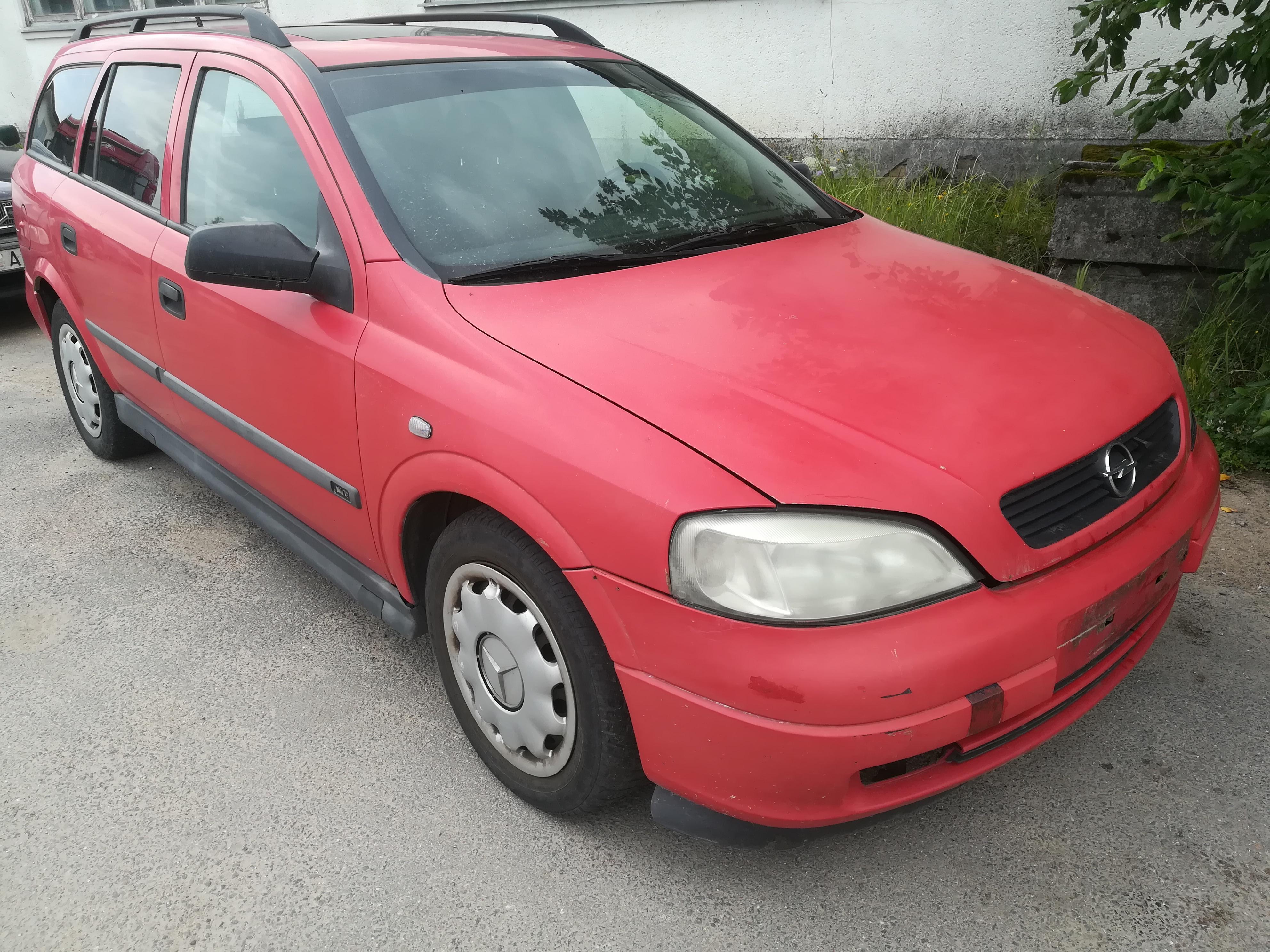 Opel ASTRA 1999 2.0 Mechaninė