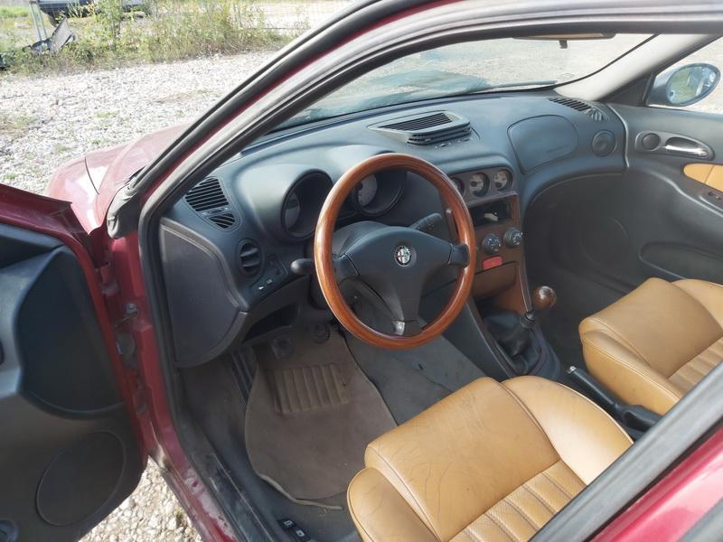 Naudotos automobilio dalys Alfa-Romeo 156 2001 1.9 Mechaninė Universalas 4/5 d. Raudona 2020-9-30