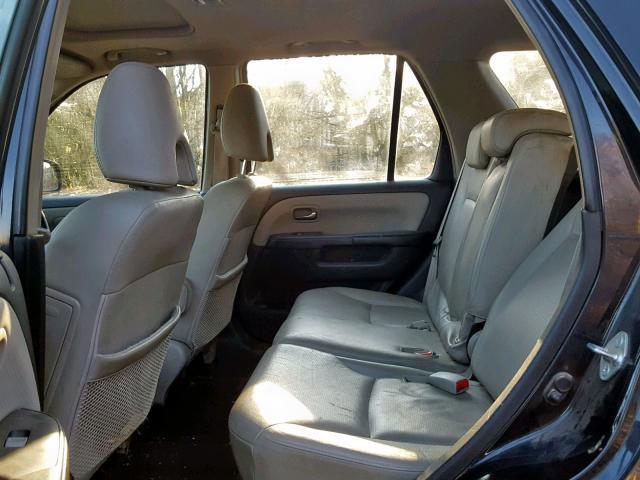Подержанные Автозапчасти Foto 8 Honda CR-V 2005 2.2 машиностроение напрямик 4/5 d. черный 2019-2-07 A4309