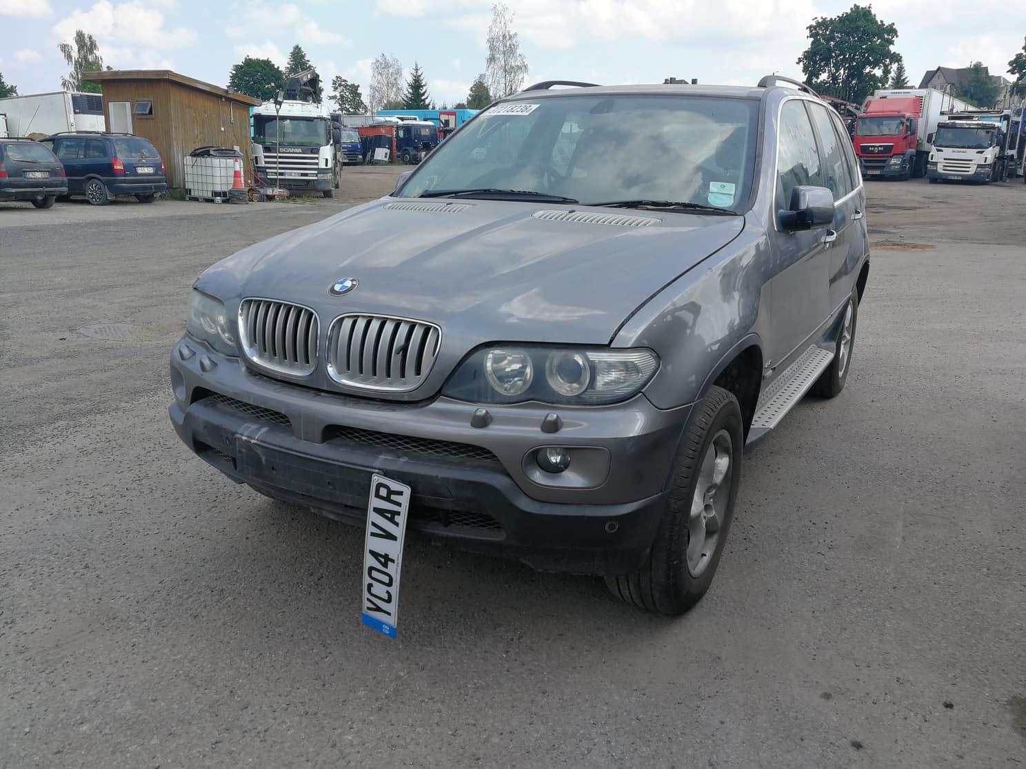 Naudotos automobilio dalys BMW X5 2004 4.4 Automatinė Visureigis 4/5 d. Pilka 2018-7-31