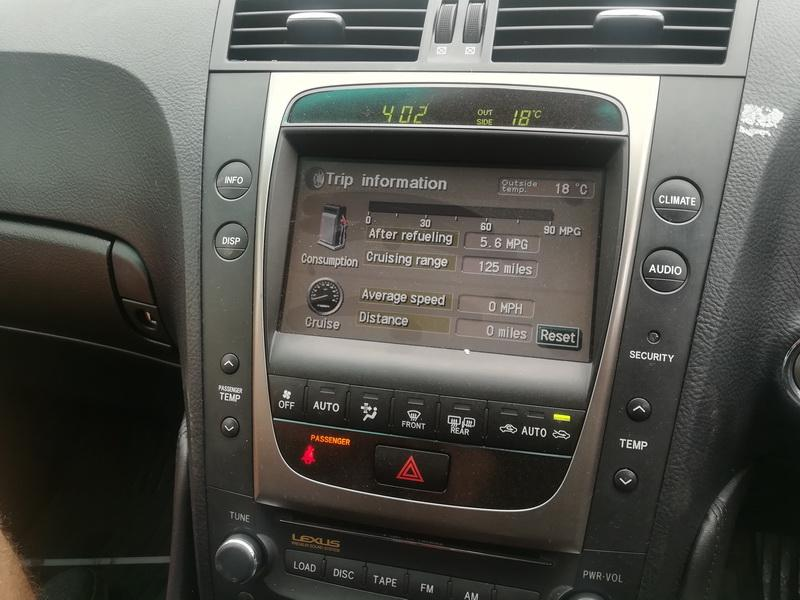 Naudotos automobiliu dallys Foto 8 Lexus GS - CLASS 2005 3.0 Automatinė Sedanas 4/5 d. Sidabrine 2019-5-29 A4530